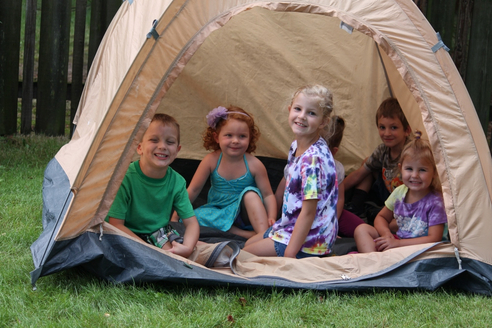 Camping-Themed Playdate (1/6)